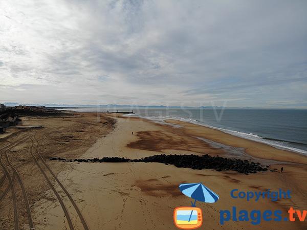 Photo of Central beach in Hossegor - Landes - France