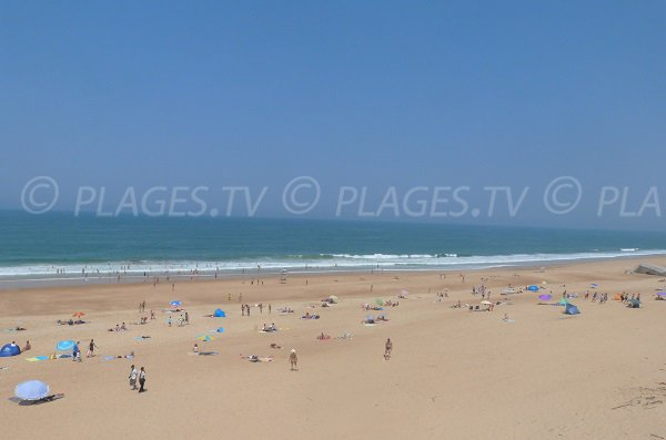 Photo de la plage de Labenne dans les Landes