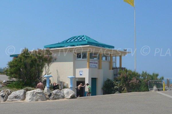 Lifeguard station of Labenne Océan