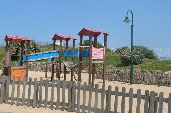 Kids area in Labenne Océan