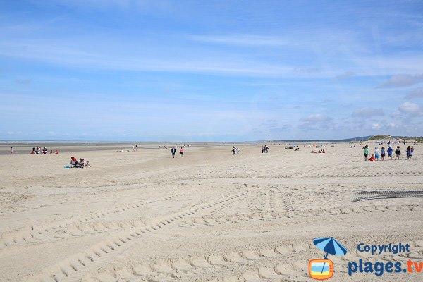 Spiaggia nel centro della città di Le Touquet
