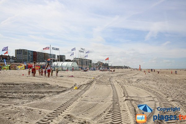 Area for children on the beach  - Le Touquet
