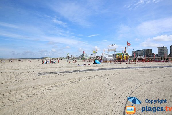 Photo of Central beach in Le Touquet - France