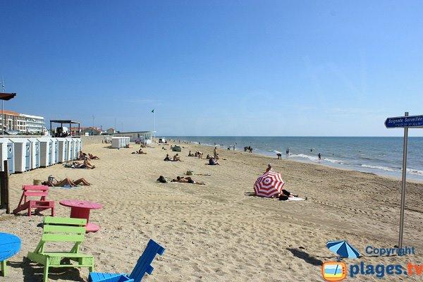 Foto della spiaggia Centrale a Notre Dame de Monts - Vandea