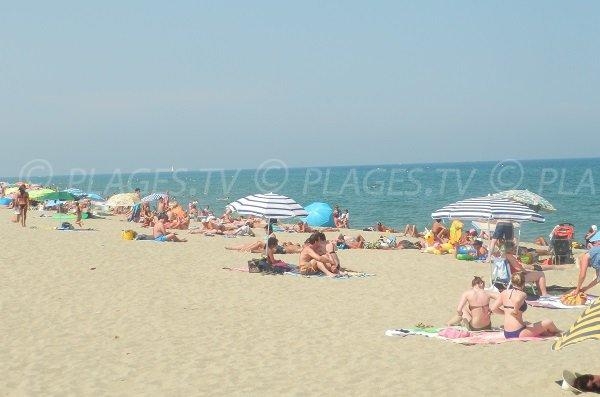 Photo de la plage de Sainte Marie dans le 66