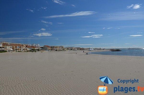 Photo de la plage de Carnon