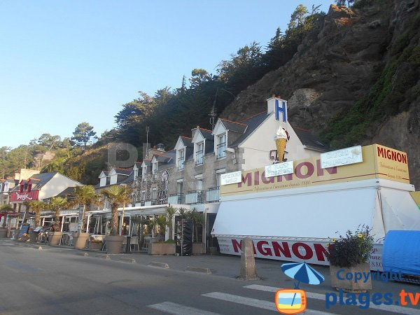 Restaurants near the beach of Erquy