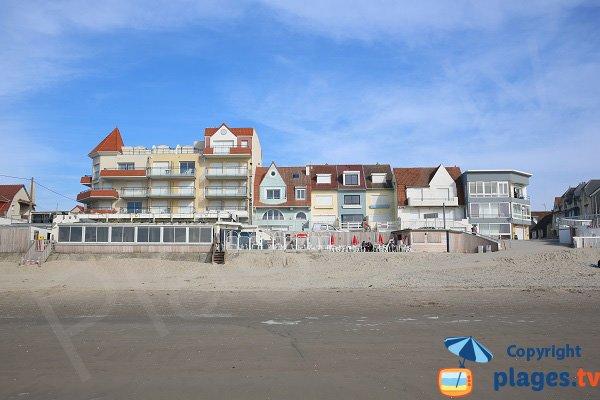 Restaurant et poste de secours de la plage de Merlimont