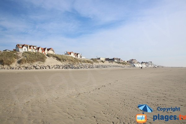 Photo of Merlimont beach in France
