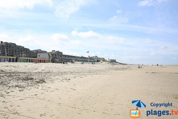 Beach near nautical center and SPA in Le Touquet