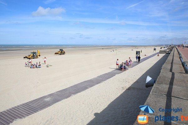 Photo of Nautical Center beach in Le Touquet - France