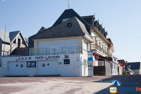 Lifeguard station of Pirou - France