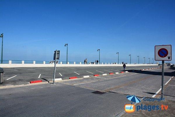 Parking in Quend-Plage