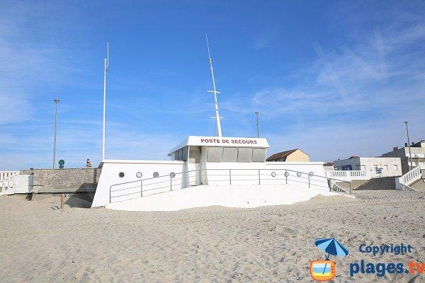 Poste de secours de la plage de Stella