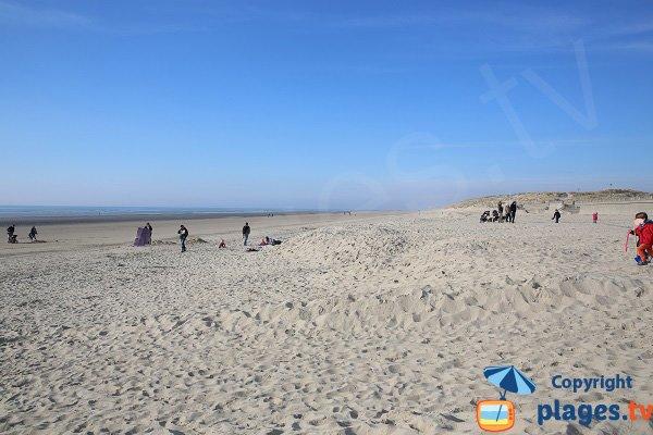 Stella beach towards Le Touquet