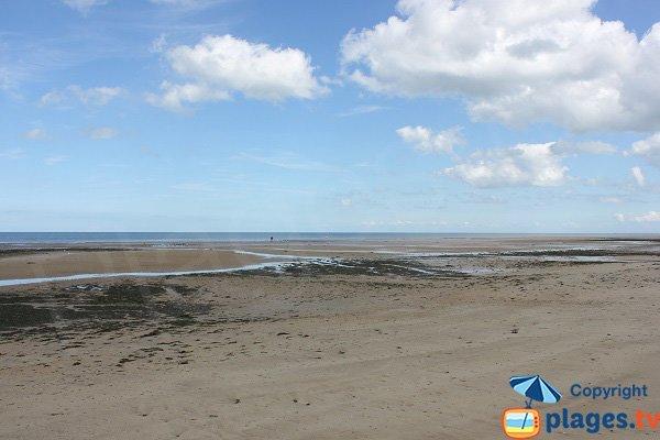 Ver sur Mer beach at low tide