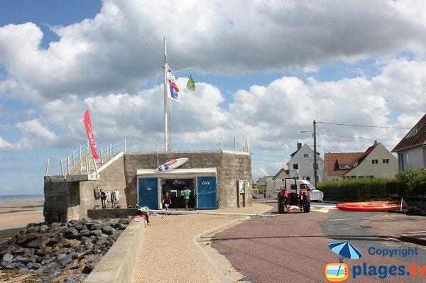 Nautical center in Ver sur Mer