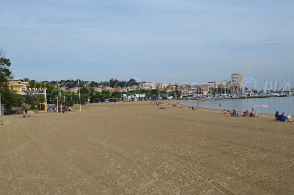 Most beautiful beach in Sainte Maxime - France