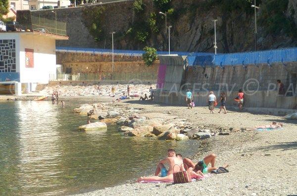 Spiaggia sulla strada per la Spagna