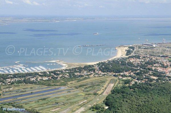 Photo de la plage de la Chambrette au Verdon sur Mer