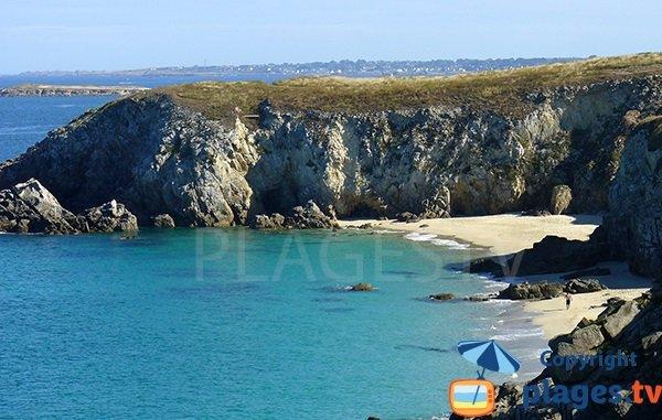 Photo de la plage des Charrettes à Plouarzel