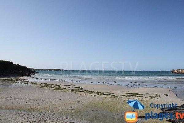 Photo de la plage du Chateau de Landunvez