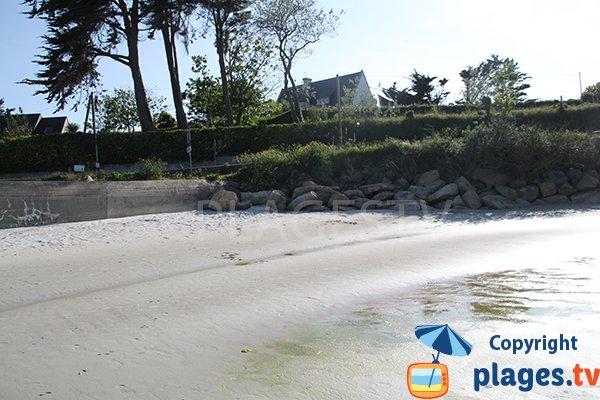 Environnement de la plage ar C'hastel - Landunvez