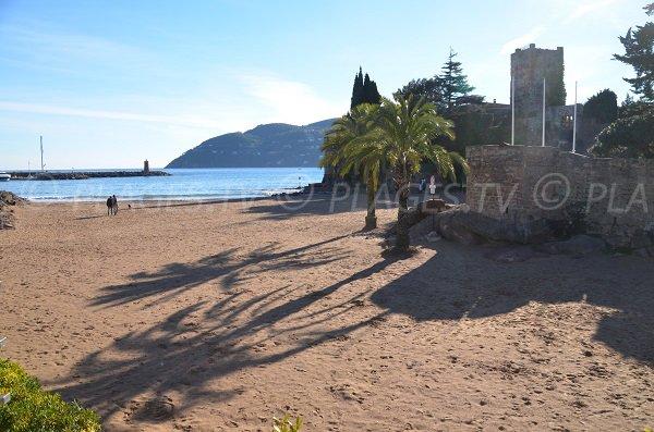 Esterel view from the castle beach - Mandelieu