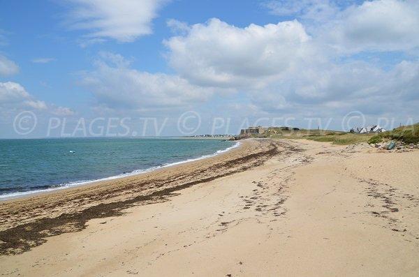 Photo de la plage du Chateau Rouge de St Pierre Quiberon