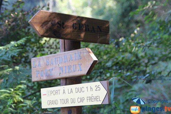 Sentier autour du Chateau Serein - Cap Fréhel