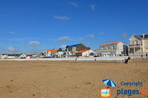Villas on the seafront of Chatelaillon - France