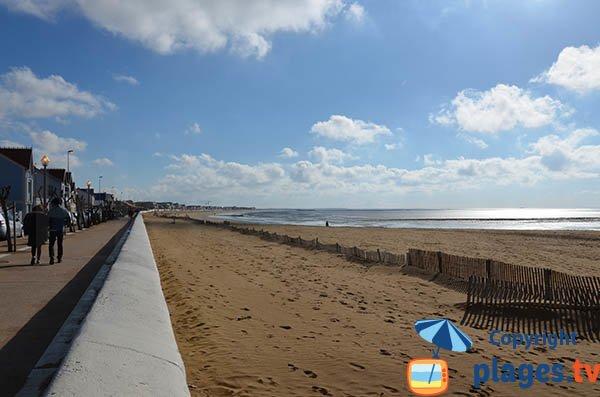 Promenade du front de mer de Châtelaillon
