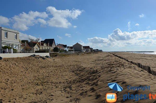 Sud de la Grande plage de Chatelaillon - 17