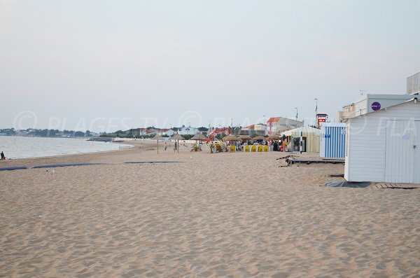 Beach of Châtelaillon-Plage - France