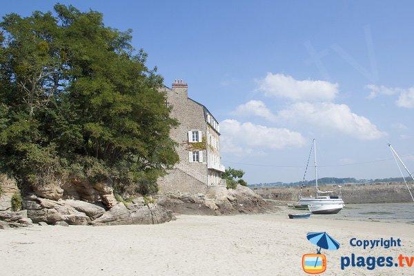 Environnement de la plage du Châtelet - St Jacut