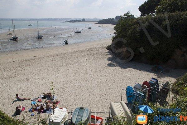 Photo de la plage du Chatelet à St Jacut de la Mer