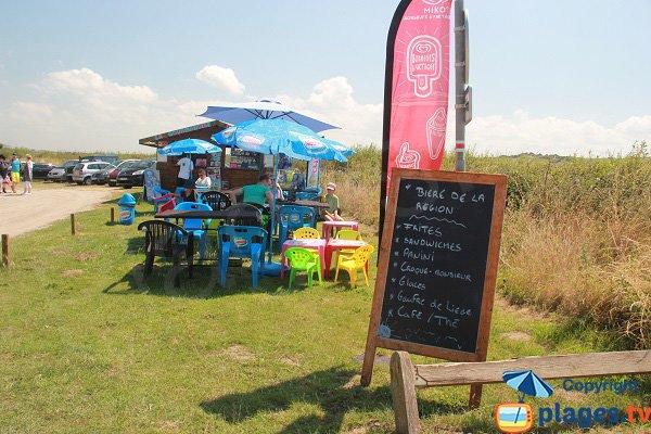 Snack sur la plage du Chatelet - Tardinghen