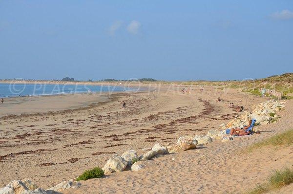 Photo de la plage de Chaucre à St Georges d'Oléron
