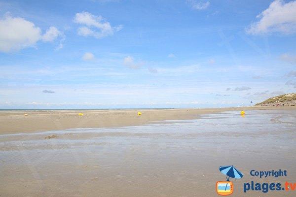Plage du chemin des Bateaux - marée basse - Ste Cécile
