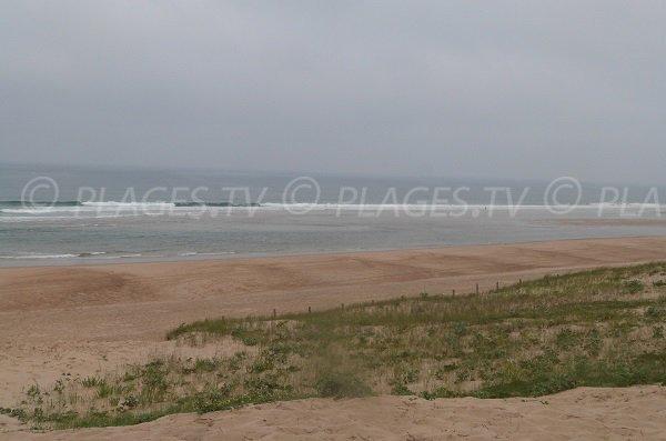 Spiaggia salvataggio a Moliets et Maa