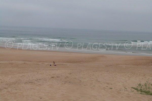 Foto della spiaggia Chênes Lièges a Moliets et Maa in Francia