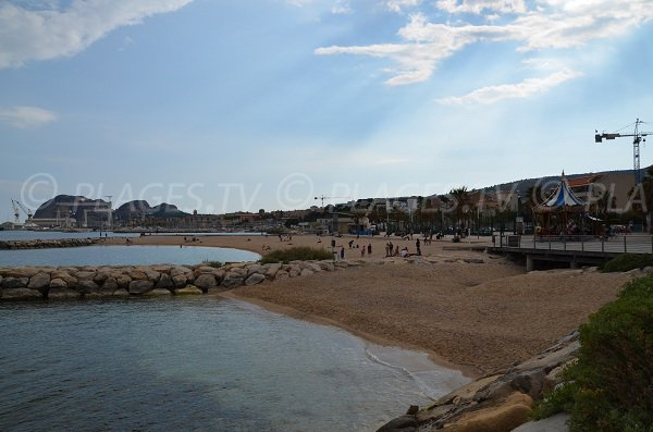 Dogs and Capucins beaches in La Ciotat