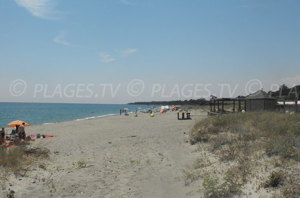 Chiosura beach in Linguizzetta - Corsica
