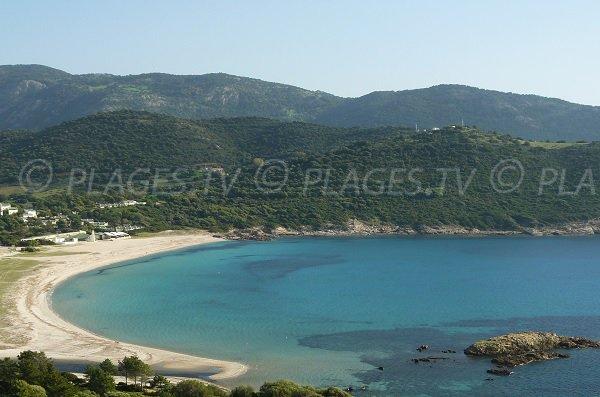 Photo of Chiuni beach in Corsica (Cargèse)