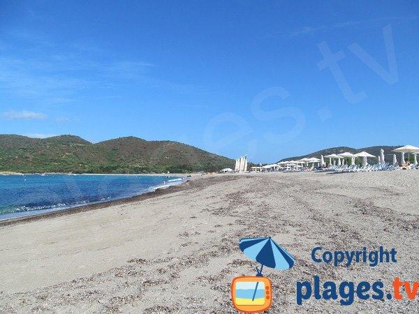 Private beach in Cargèse - Chiuni beach