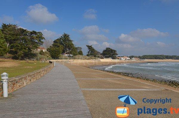 Photo of Clémenceau beach in St Vincent sur Jard