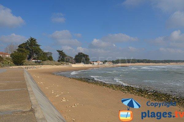 Beach of Clémenceau - St Vincent sur Jard
