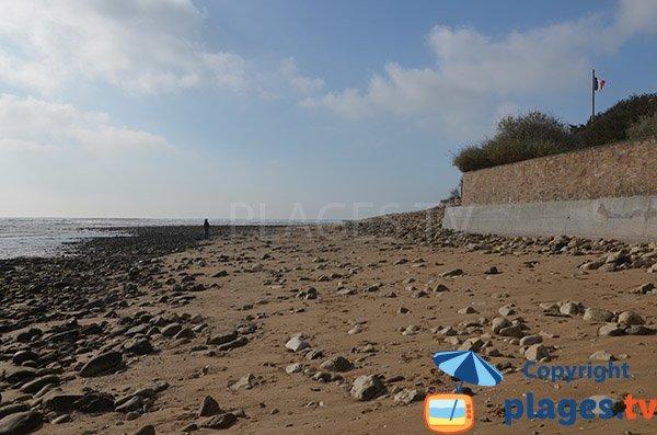 End of Clémenceau beach - St Vincent sur Jard
