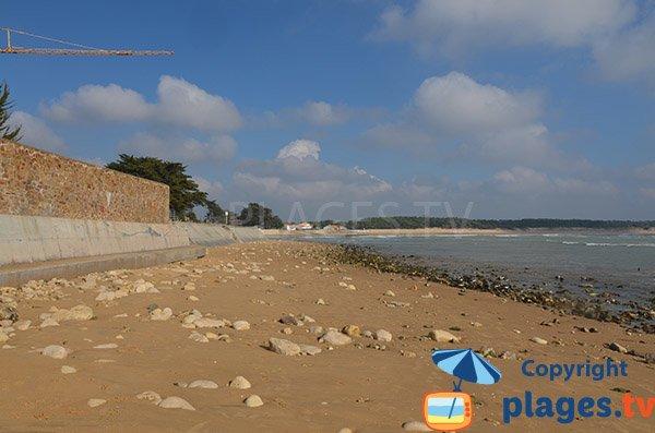 Beach at the Clémenceau house - St Vincent sur Jard