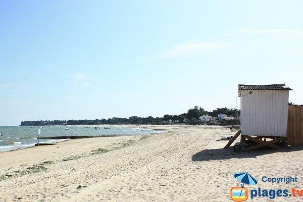 Plage de la Clère à Noirmoutier
